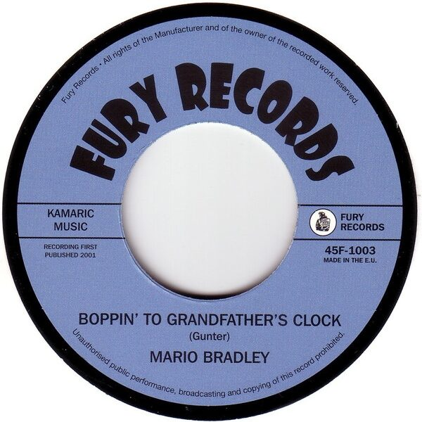Boppin' To Grandfather's Clock / She Breaks Me Down-0