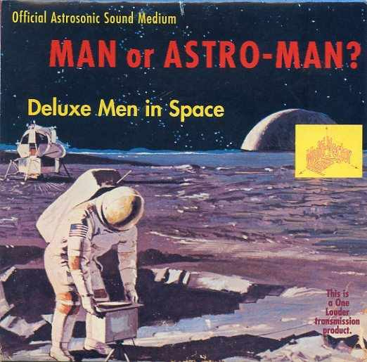 Deluxe Men In Space EP-0