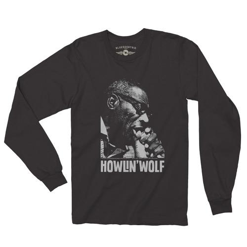 Black Long Sleeve T-Shirt-0