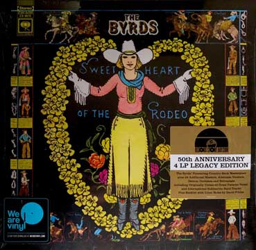 Sweetheart Of The Rodeo 4LP BOXSET (Black Friday 2018)-0