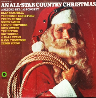 An All-Star Country Christmas 2LP-0