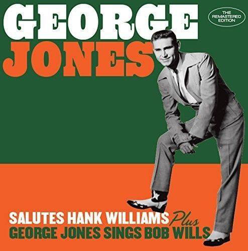 Salutes Hank Williams + George Jones Sings Bob Wills -0