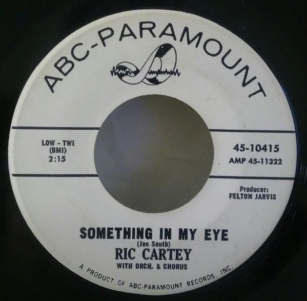 Something In My Eye / Poor Me -0