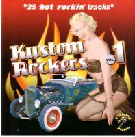 Kustom Rockers Volume 1 - 25 Hot Rockin Tracks-0