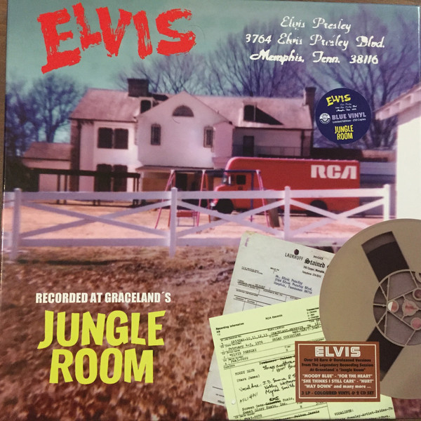 3764 Elvis Presley Blvd. Memphis, Tenn. 38116 - Jungle Room (3LP + 2CD)-0