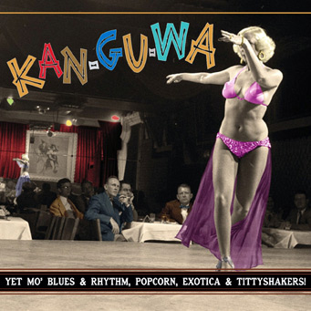 Kan-Gu-Wa – Exotic Blues & Rhythm Vol. 3 (Clear vinyl)-0