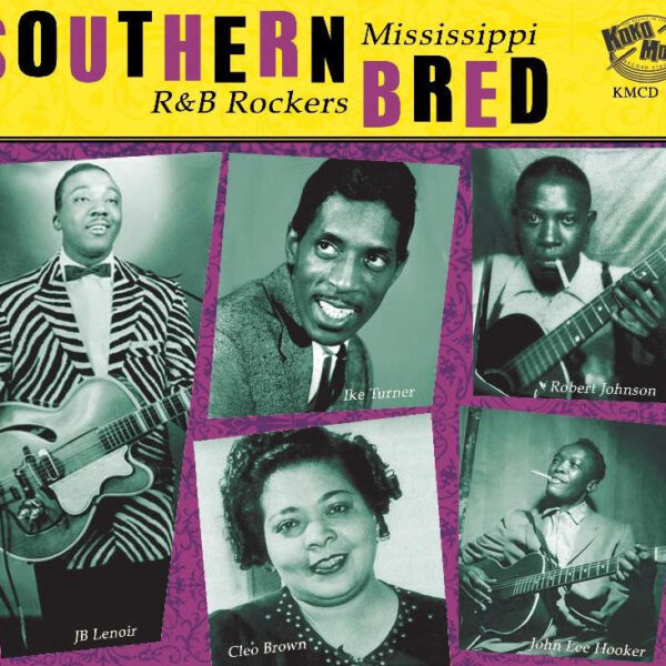 Southern Bred – Mississippi R&B Rockers Vol. 2-0