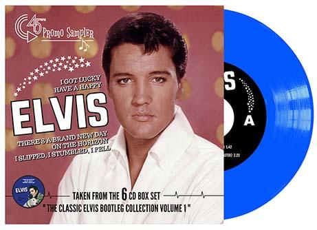 I Got Lucky: Promo 45 rpm EP Sampler (Blue)-0