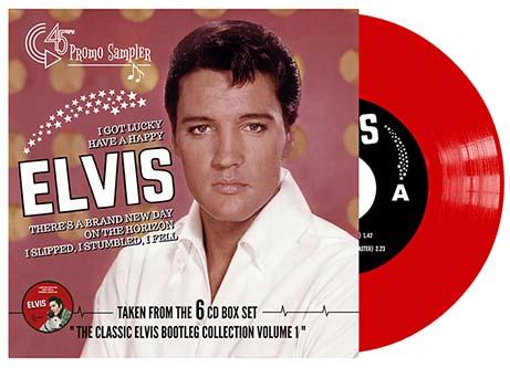 I Got Lucky: Promo 45 rpm EP Sampler (Red)-0