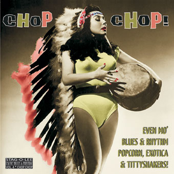Chop Chop! – Exotic Blues & Rhythm Vol. 4 (Clear vinyl)-0