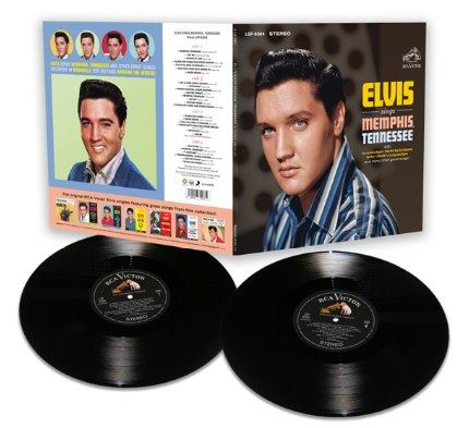 Sings Memphis Tennessee 2LP (Limited)-0