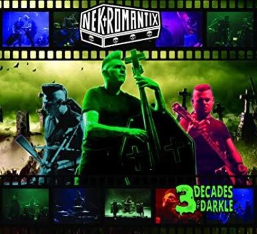 3 Decades Of Darkle (2LP, Limited Green Vinyl)-0