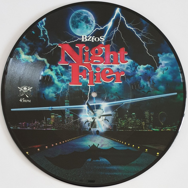 "Night Flier / Rainy Season (Picture Disc 10"")-0"