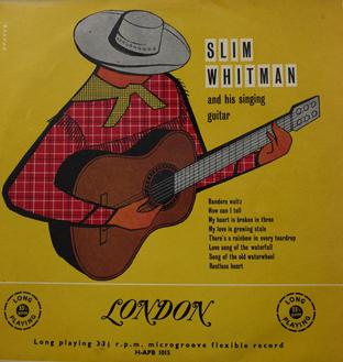 Slim Whitman And His Singing Guitar -0
