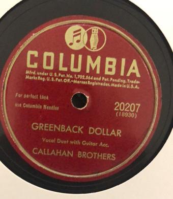 Greenback Dollar / Just One Year-0