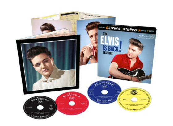 Elvis Is Back Sessions 4CD Boxset-0