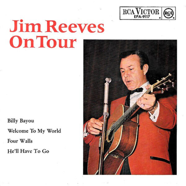 Jim Reeves On Tour EP-0