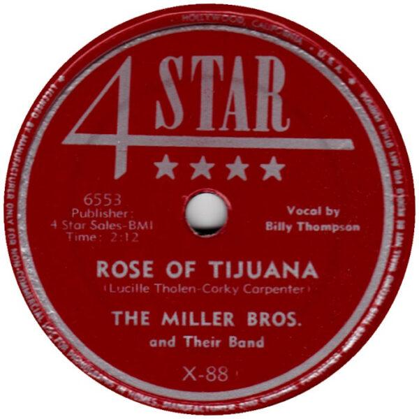 Rose Of Tijuana / That's How Long I'll Love You-0