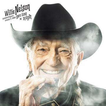 """Sometimes Even I Can Get Too High / It's All Going To Pot"""" (w/ Merle Haggard) (Black Friday)-0"""