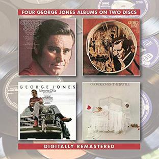 George Jones/In A Gospel Way/Memories Of Us/The Battle 2CD-0