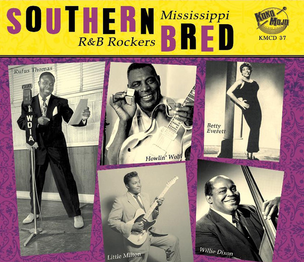 Southern Bred – Mississippi R&B Rockers Vol. 4-0