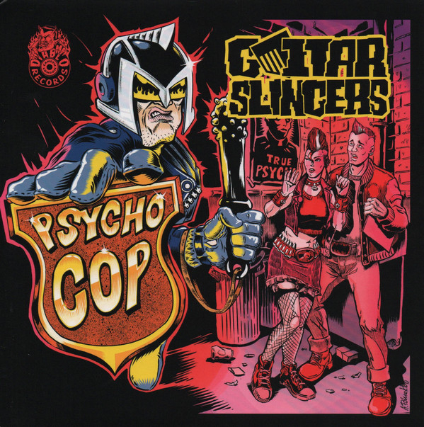 Psycho Cop EP (Yellow)-0