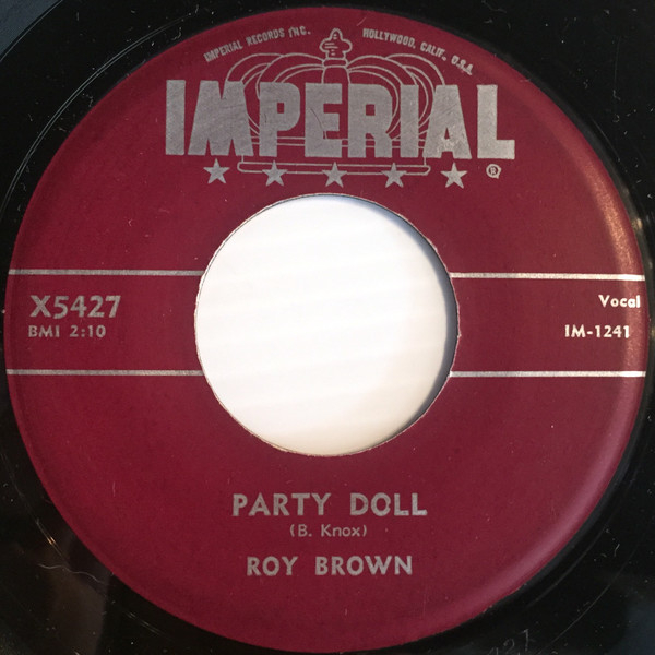 Party Doll / I'm Sticking With You-0