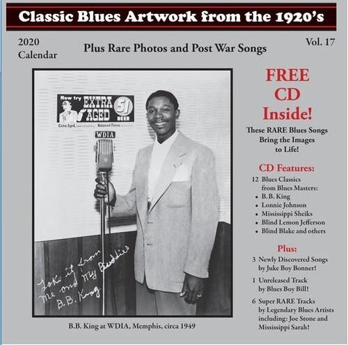 Classic Blues Artwork From the 1920s Calendar 2020 + (Bonus CD)-0