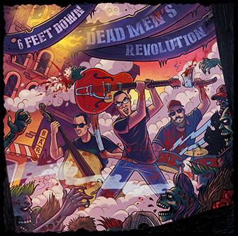 """Dead Men's Revolution 12""""EP (Red Vinyl)-0"""