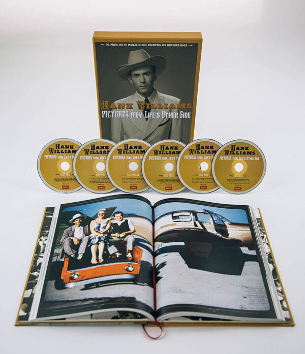 Pictures From Life's Other Side: The Man and His Music in Rare Recordings and Photos BOOK + 6CD Box-71545