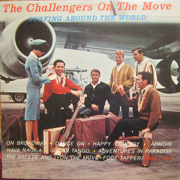 The Challengers On The Move - Surfing Around The World-0