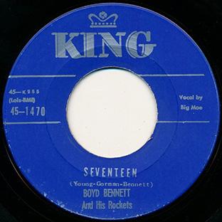 Seventeen / My Boy—Flat Top-0