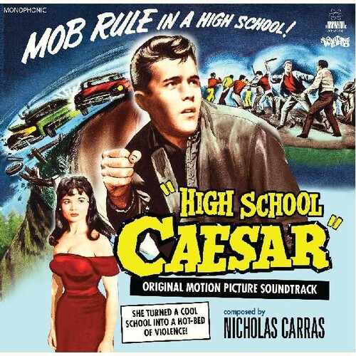 High School Caesar (Original Motion Picture Soundtrack) DVD + LP-0