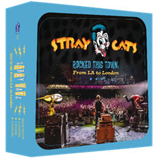 Rocked This Town: From LA To London (Limited DELUXE Box, Stray Cats-themed coasters (2x), postcard and 2 stickers!)-0