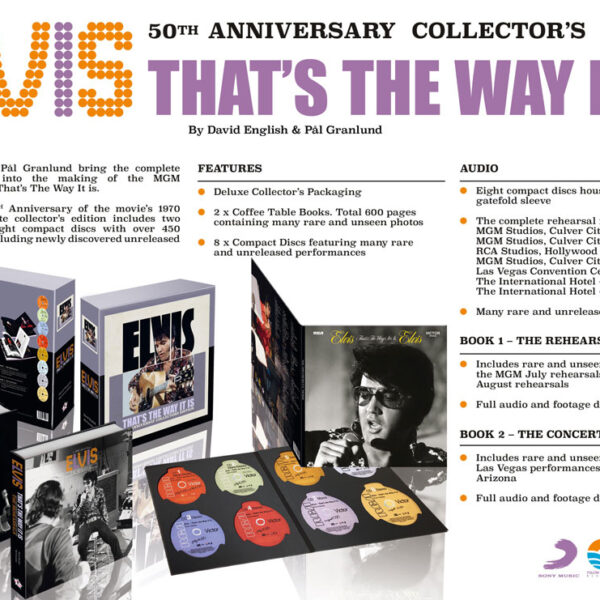That's The Way It Is (50th Anniversary Edition) 8CD + 2xBOOK-72694