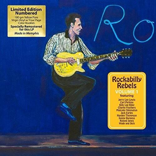Rockabilly Rebels Volume 1 (180 gram,Ltd, Yellow)-0