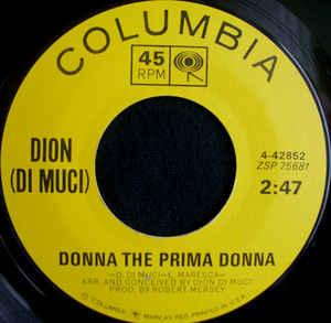 Donna The Prima Donna / You're Mine-0