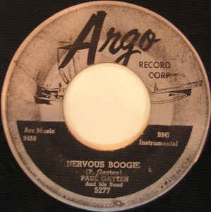 Nervous Boogie / Flatfoot Sam-0