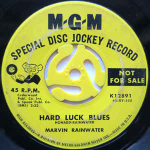 Hard Luck Blues / She's Gone-0