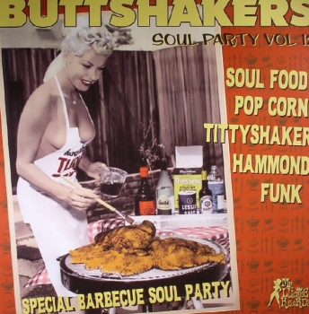 Buttshakers - Vol. 12 : Special Barbecue Soul Party!!!-0