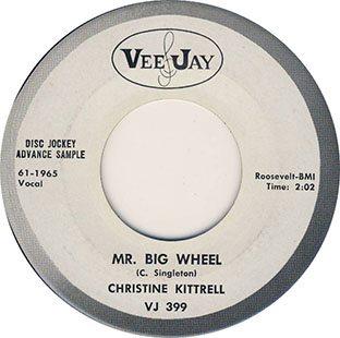 Sittin' And Drinking / Mr. Big Wheel-0