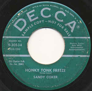 Honky Tonk Freeze / Under Cover-0