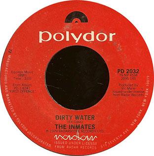 Dirty Water / I Can't Sleep-0