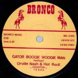 Gator Boogie Woogie Man / Rebel Rousin' -0