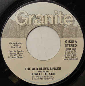 The Old Blues Singer / Monday Morning Blues-0