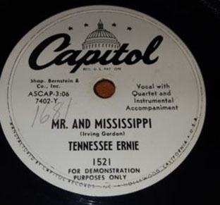 Mr. And Mississippi / She's My Baby-0