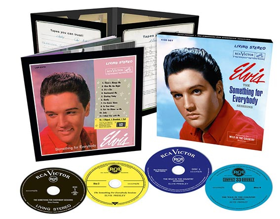 The Something For Everybody Sessions + including The Wild In The Country Sessions 4CD Boxset-73468