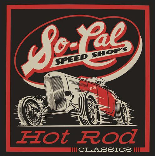 So-Cal Speed Shop's Hot Rod Classics (4CD + BOOK)-0