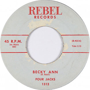 Becky Ann / I Can't Forget-0