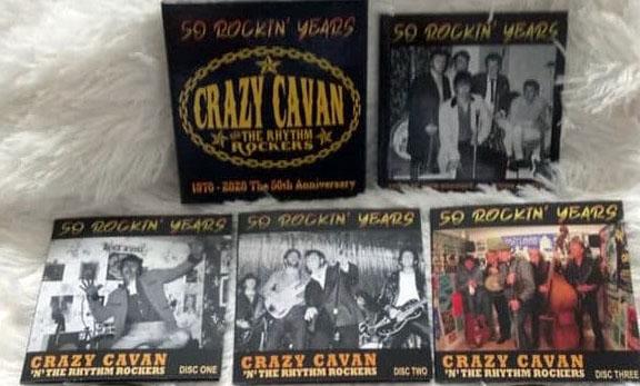 "50 Rockin Years ""1970-2020 The 50th Anniversary 3CD Boxset -74223"